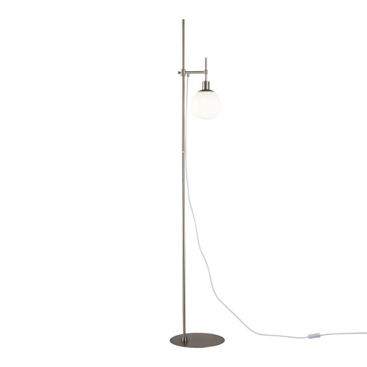 Erich - Lampă de podea cu o sursă de lumină roundă ajustabilă