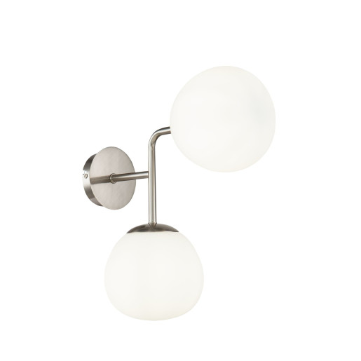 Erich - Aplică cu 2 surse de lumină rotunde