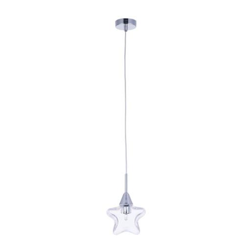Star II - Pendul transparent in formă de stea
