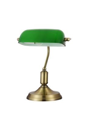 Kiwi - Lampă de masă in stil clasic cu abajur verde