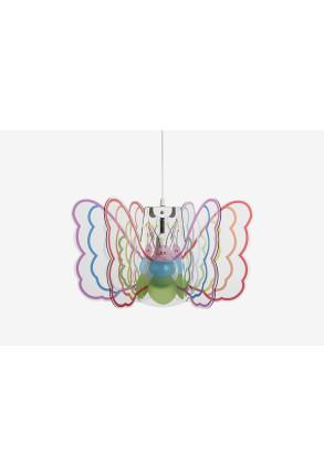 Butterfly Multicolor - Pendul