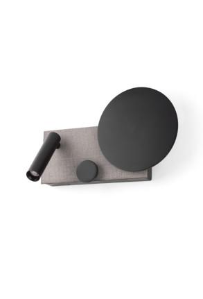 Klee - Aplică pentru citit gri ajustabilă