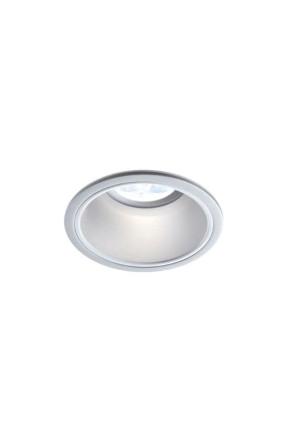 Sikma - Spot încastrat argintiu rotund