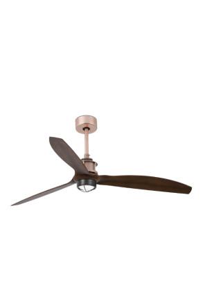 Just - Ventilator cu lumină cupruriu
