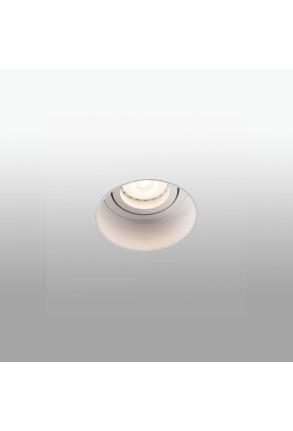 HYDE GU10  - Spot încastrat rotund alb ajustabil