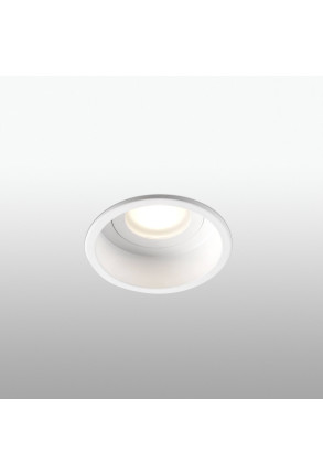 HYDE GU10 IP44 - Spot încastrat rotund alb
