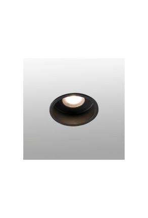 HYDE GU10 IP44 - Spot încastrat rotund negru