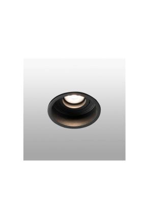 HYDE - Spot încastrat negru rotund din metal