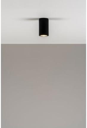 Kronn 11 - Downlight cilindric negru