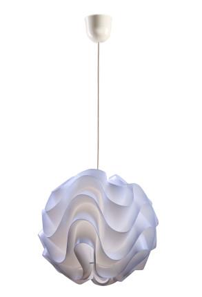 Ida - Pendul alb cu forme neregulate