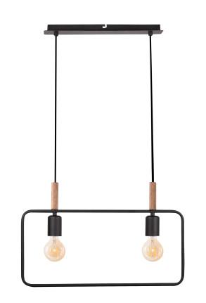 Frame I - Lustră cu 2 surse de lumină în formă de ramă