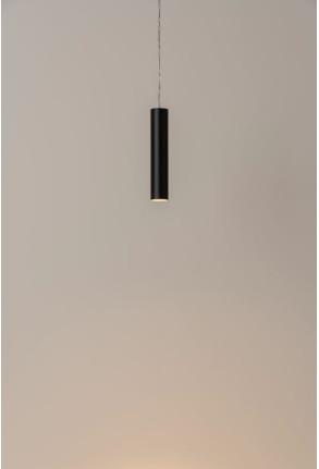 Haul Ø4 - Proiector pe șină cilindric negru