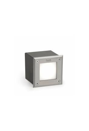 Corp de iluminat rectangular LED-18 4000 K încastrat în paviment