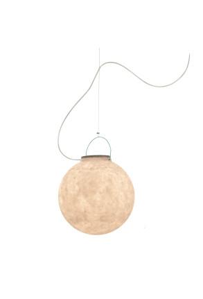 Luna 1 Out - Lampă suspendată cu mâner turcoaz