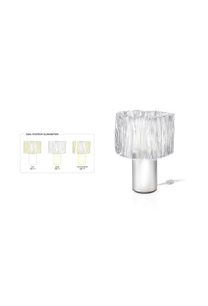 Accordeon - Lampă de masă gri