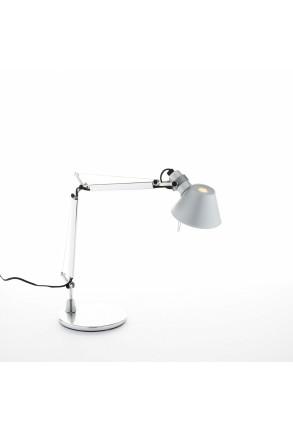 Tolomeo Micro - Lampă de birou gri sau neagră ajustabilă