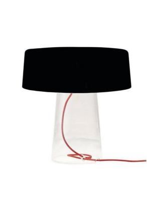 Glam T1 Neagră - Lampă de masă