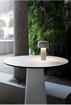 Bellhop - Lampă portabilă albă
