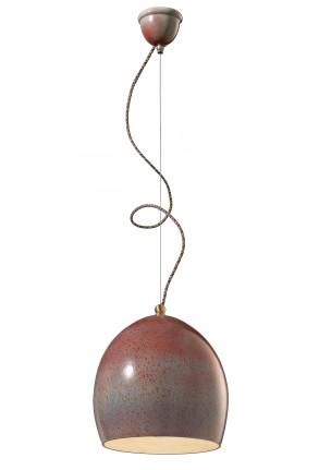 C1414 - Pendul retro roșu sau alb din ceramică
