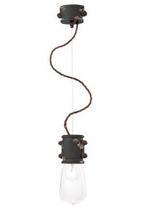 C1520 - Pendul din ceramică cu aspect retro