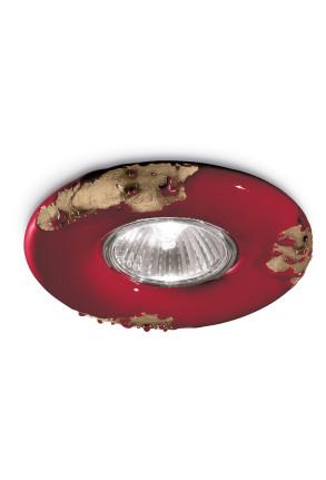 C481 - Spot încastrat din ceramică cu finisaj retro