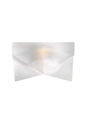 Faretti F28 - Downlight din sticlă alb sau transparent