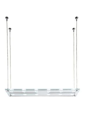 Sospesa A01 - Lampă suspendată de birou cu 12 surse de lumină din cristal
