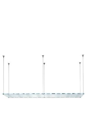 Sospesa A21 - Lampă suspendată de birou cu 48 surse de lumină din cristal