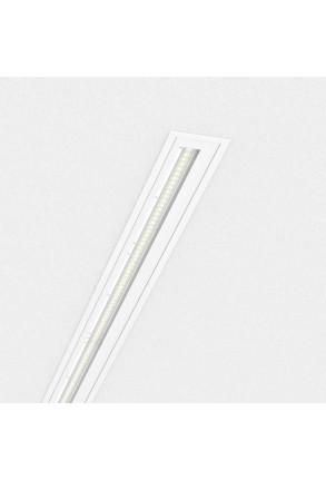Easy Line WW - Profil liniar încastrat alb
