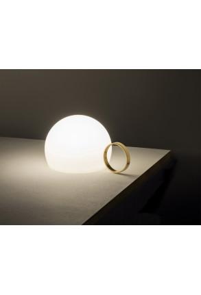 Circ I - Lampă portabilă cu mâner auriu