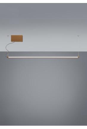 Pivot A01 - Profil liniar suspendat cu finisaj de bronz