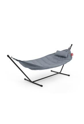 Headdemock Sunbrella - Hamac din poliester cu pernă inclusă pentru exterior