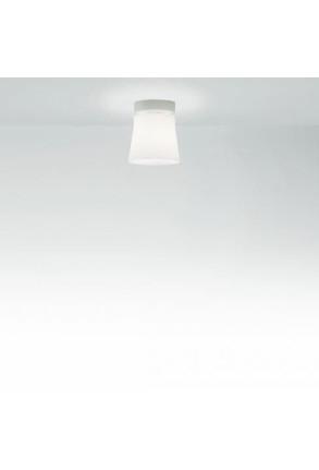 Finland C1 - Plafonieră albă din sticlă