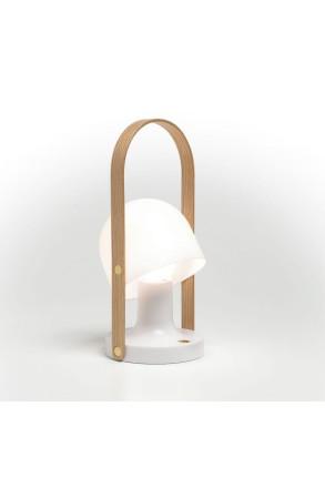 FollowMe Stejar Alb 4.7W - Lampă portabilă