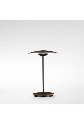 Ginger 20 M - Lampă portabilă crem sau maro din lemn