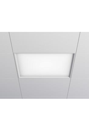 Halftone 32W LED neutru Patrat - Panou Încastrat