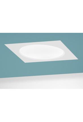 Halftone 32W LED Alb cald Dimabil - Panou Încastrat