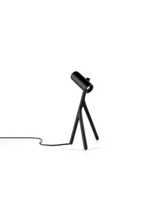 Medard - Lampă de masă neagră sau albă cilindrică