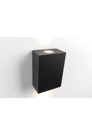 Sulfer - Aplică neagră IP54