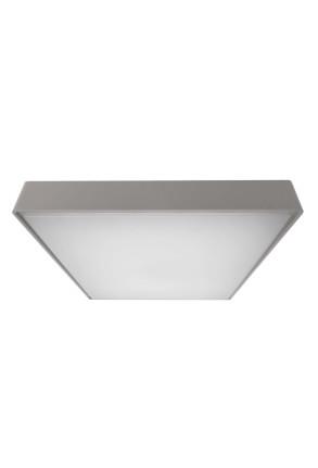 Quadrata III 4000 K - Plafonieră pătrată gri din aluminiu
