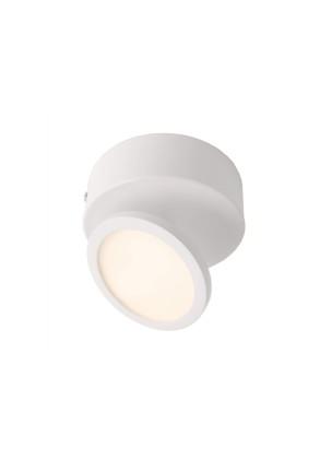 Dubhe I - Plafonieră albă ajustabilă