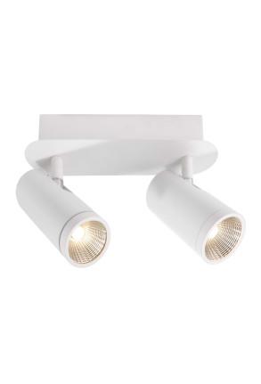 Dabih II - Plafonieră albă ajustabilă