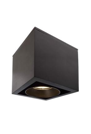 Ceti - Downlight de formă cubică din aluminiu
