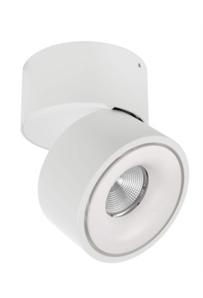 Uni II - Spot aplicat alb din aluminiu