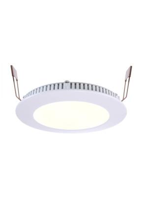 Led Panel 8 - Lampă albă încastrată din aluminiu