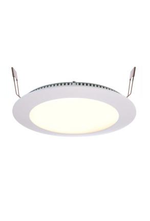 Led Panel 16 - Lampă albă încastrată din aluminiu