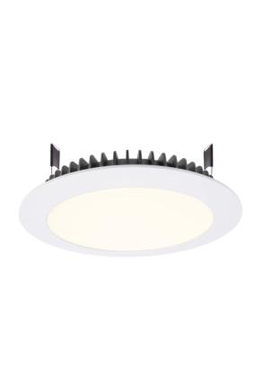 Led Panel Round III 26 4000 K - Lampă albă încastrată din aluminiu