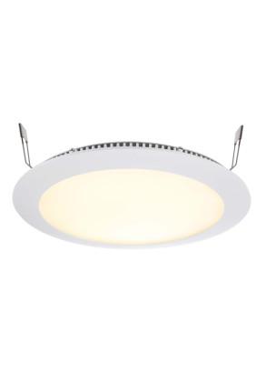 Led Panel 16 RGB - Lampă albă încastrată din aluminiu