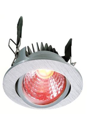 Cob 68 RGB - Spot încastrat cu interior roşu