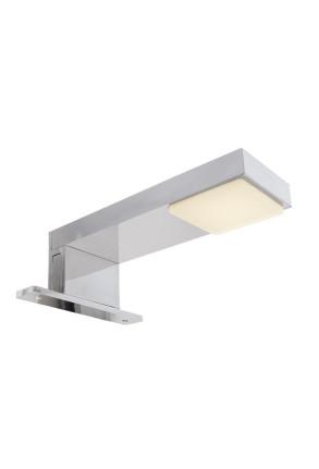 Nunki - Aplică de baie rectangulară modernă din  plastic